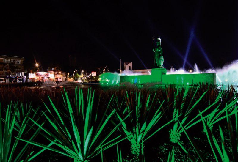 La Ciudad de México iluminada de verde por el Día de San Patricio-image1