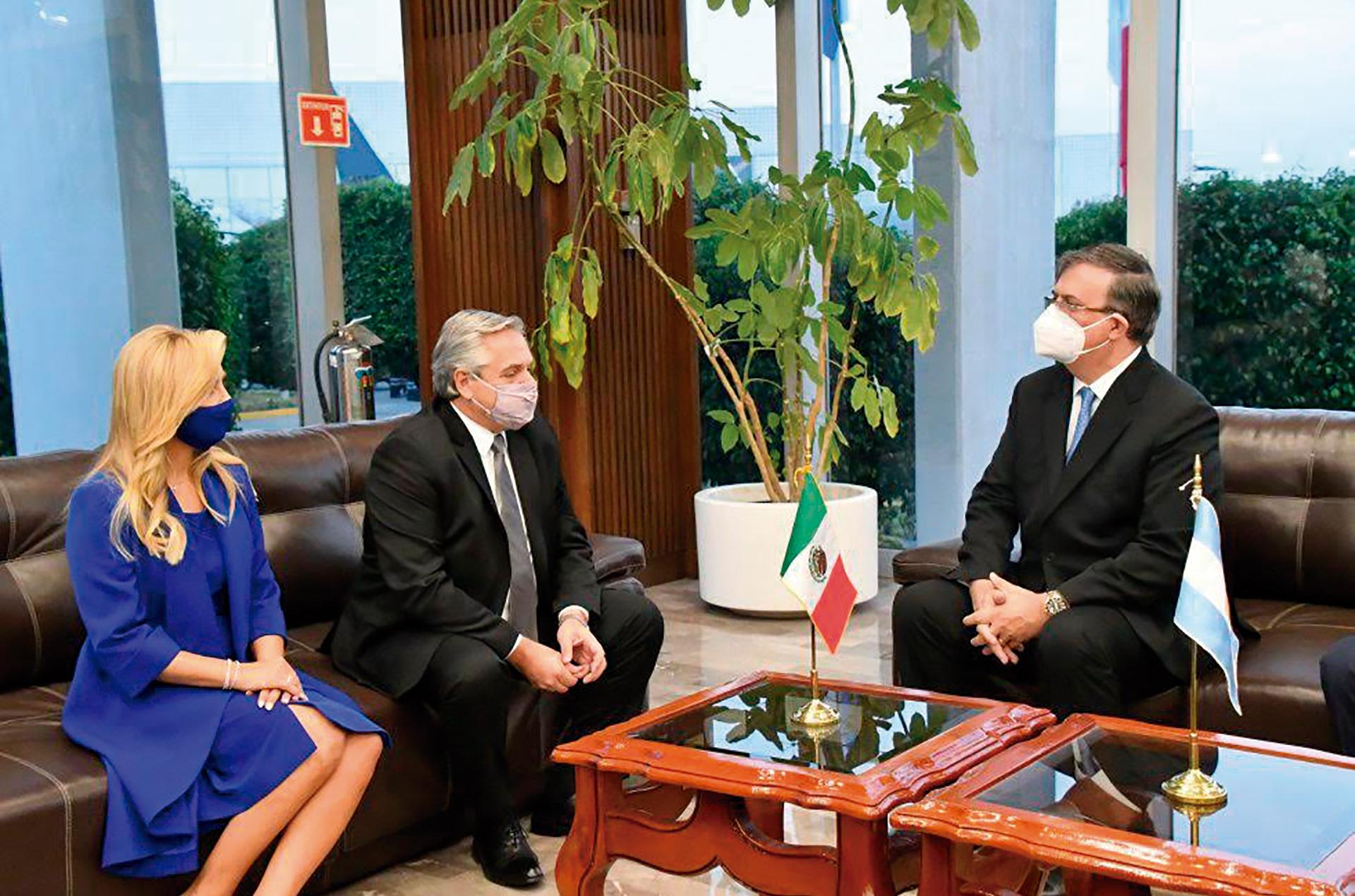 El Presidente de Argentina visitó México-image1